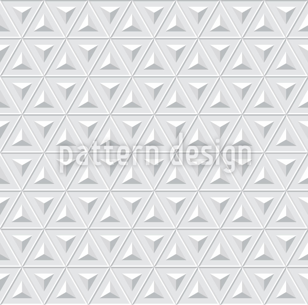 Designtapete Raumfahrt Dreiecke