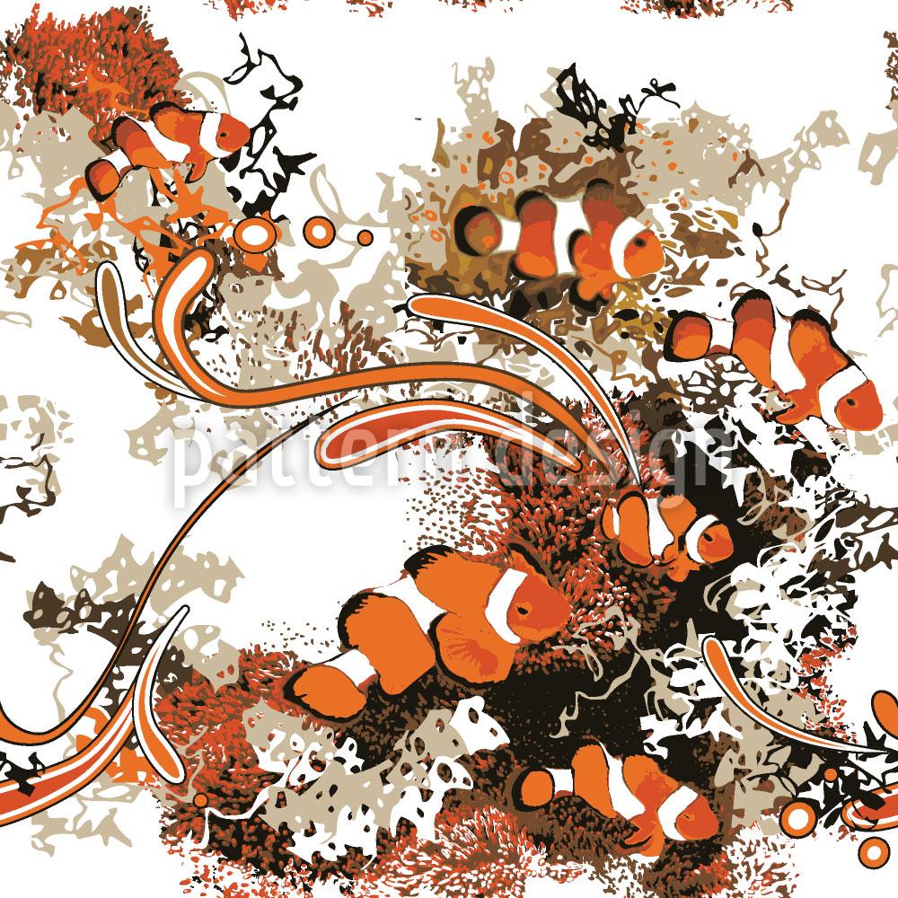 Designtapete Clownfische