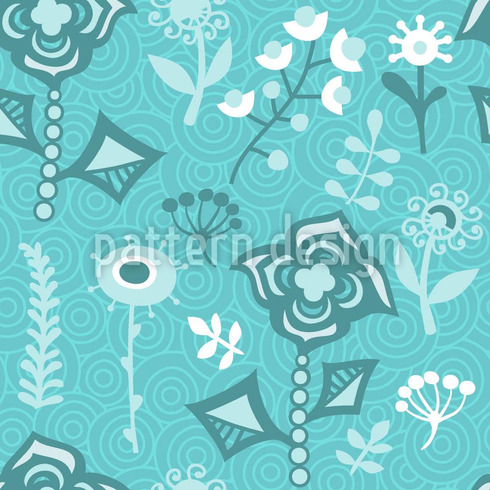 Designtapete Die Blumen Aus Aquapulco