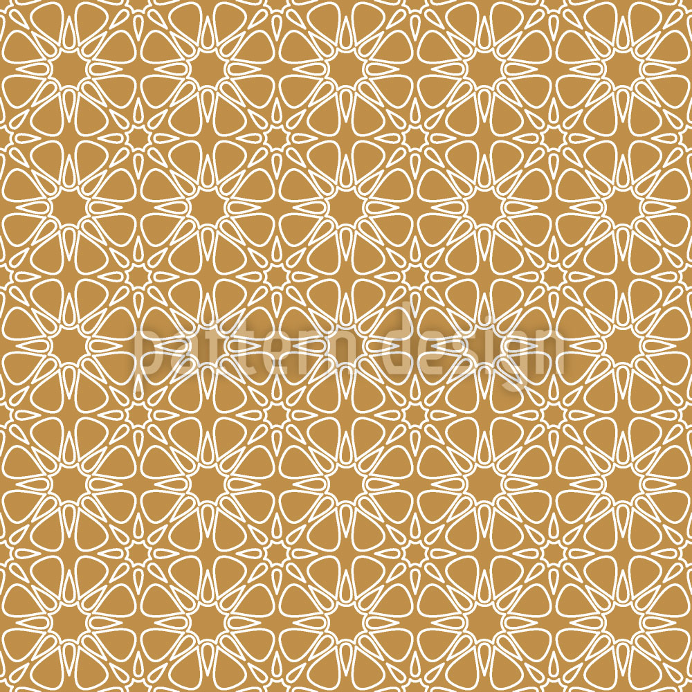 Designtapete Florale Wüste