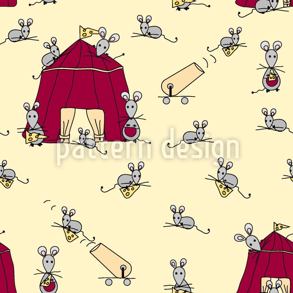 Designtapete Mäusezirkus