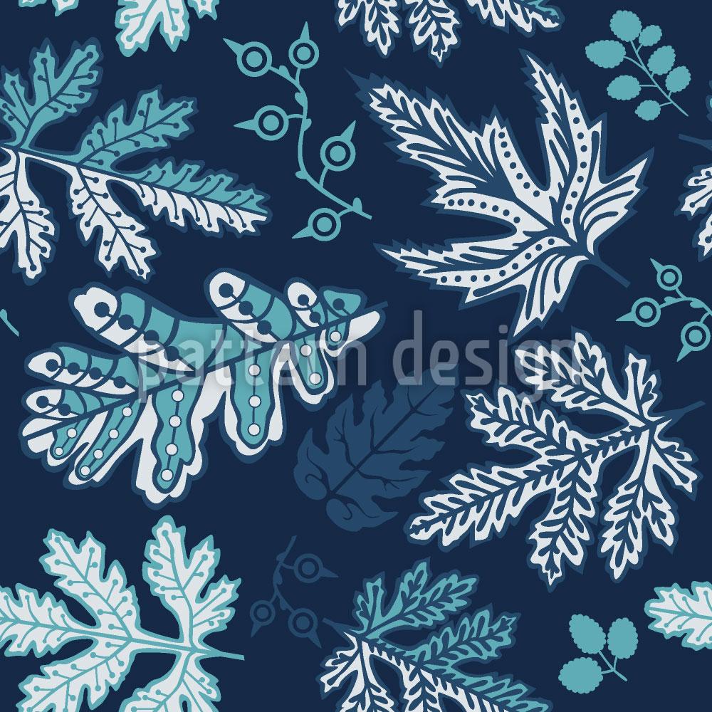 Designtapete Sanfter Blätterfall
