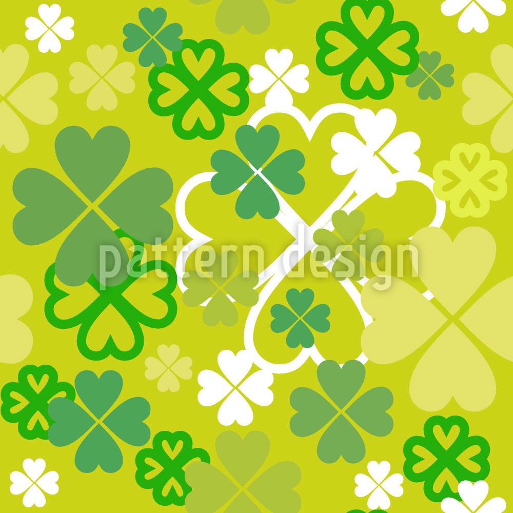 Designtapete Irisches Glück