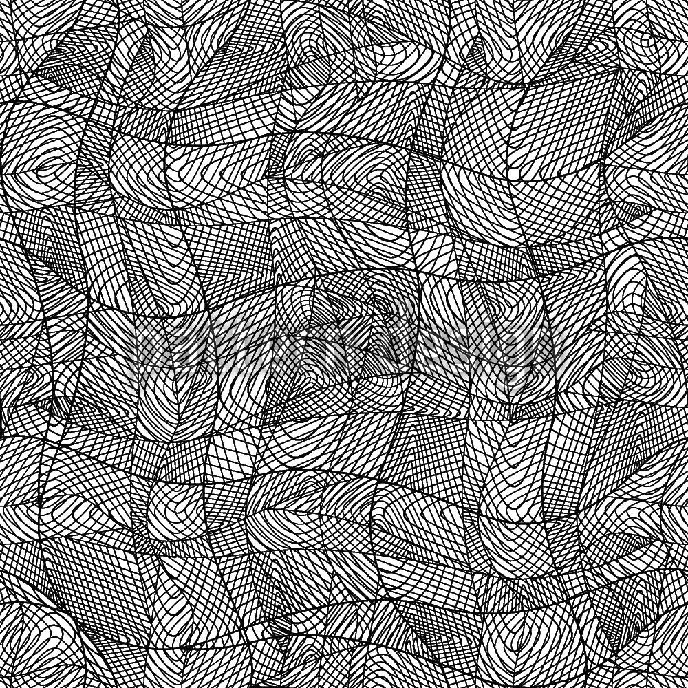 Designtapete Linien Bewegen