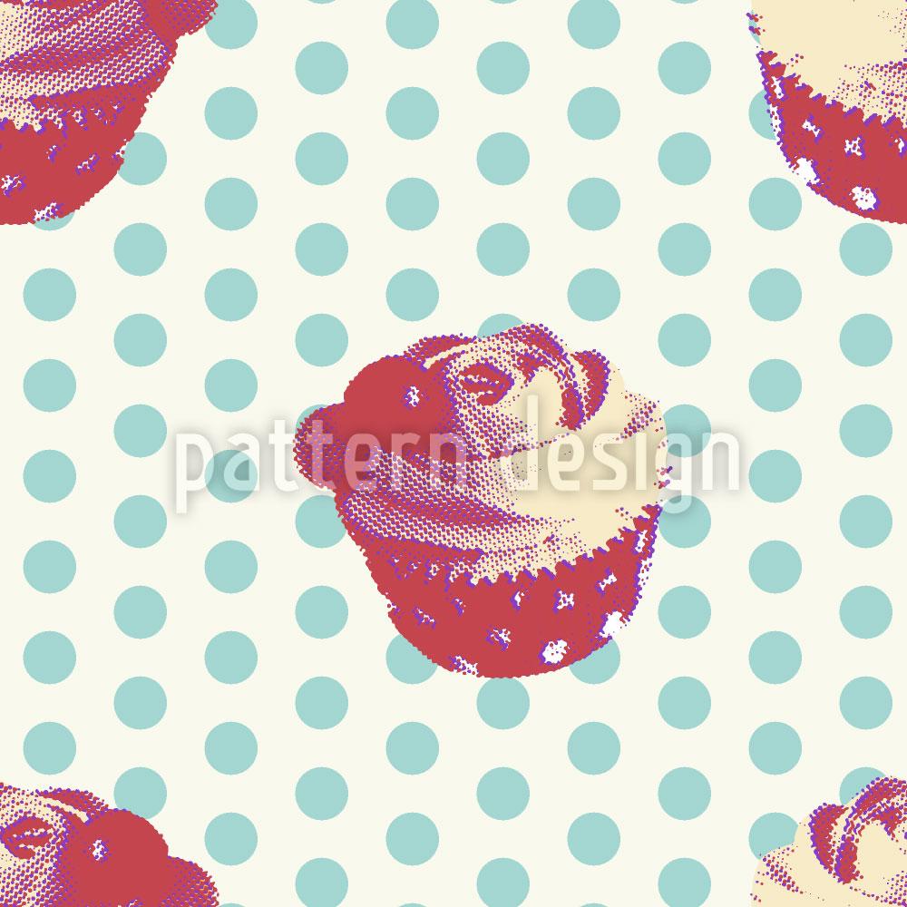 Designtapete Cupcake Baby