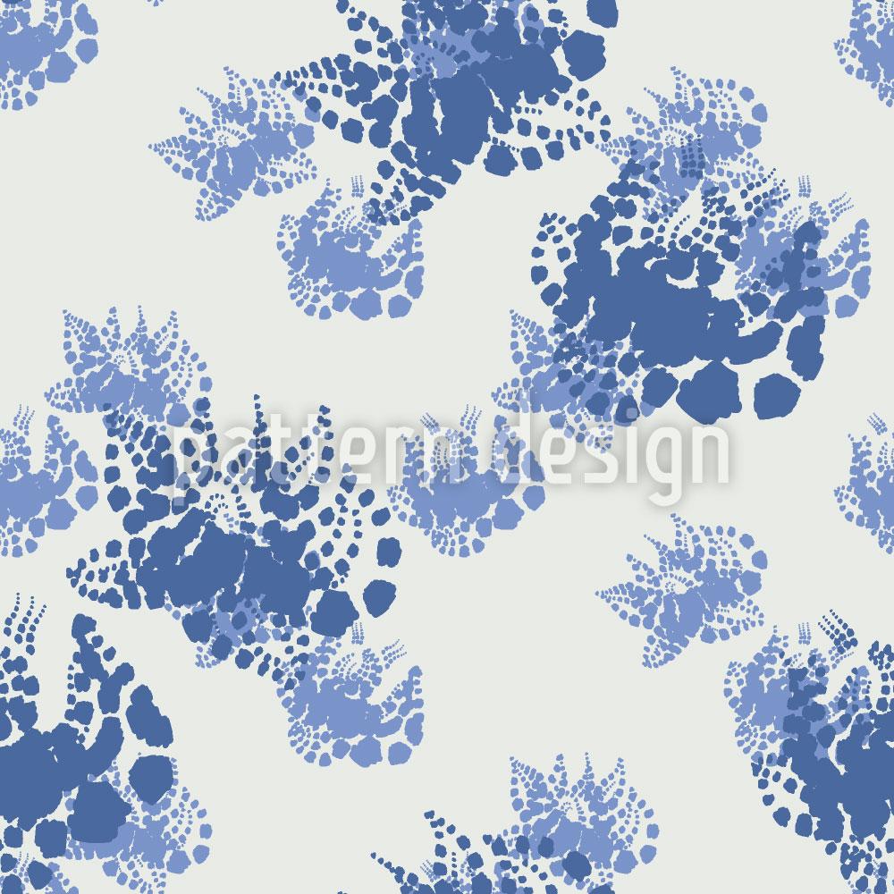 Designtapete Mühlviertler Blumen