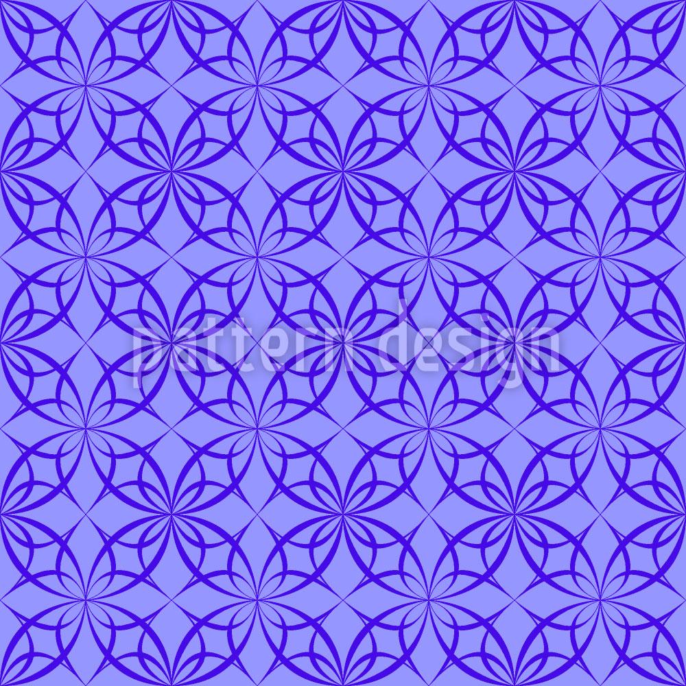 Designtapete Gotisch Arabisches Netzwerk
