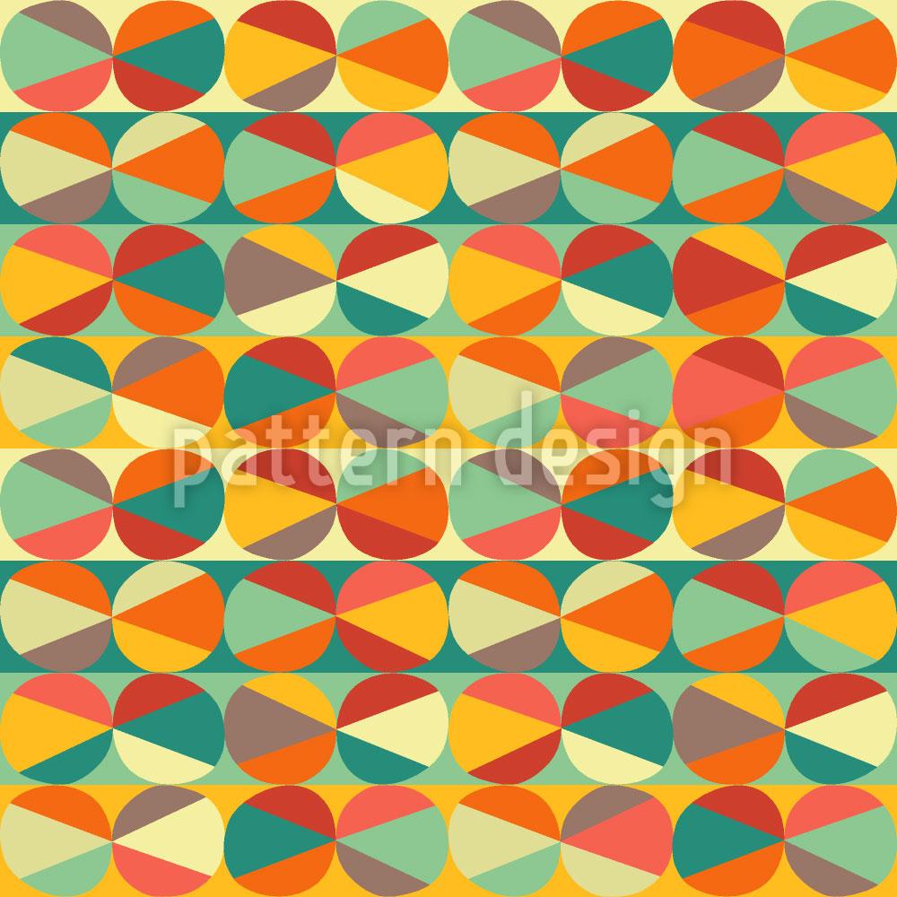 Designtapete Murmel Geometrie