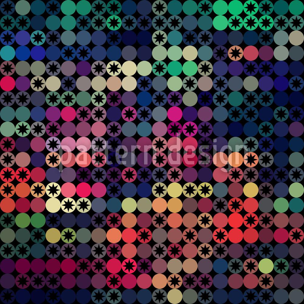 Designtapete Sterne Auf Der Punkteskala