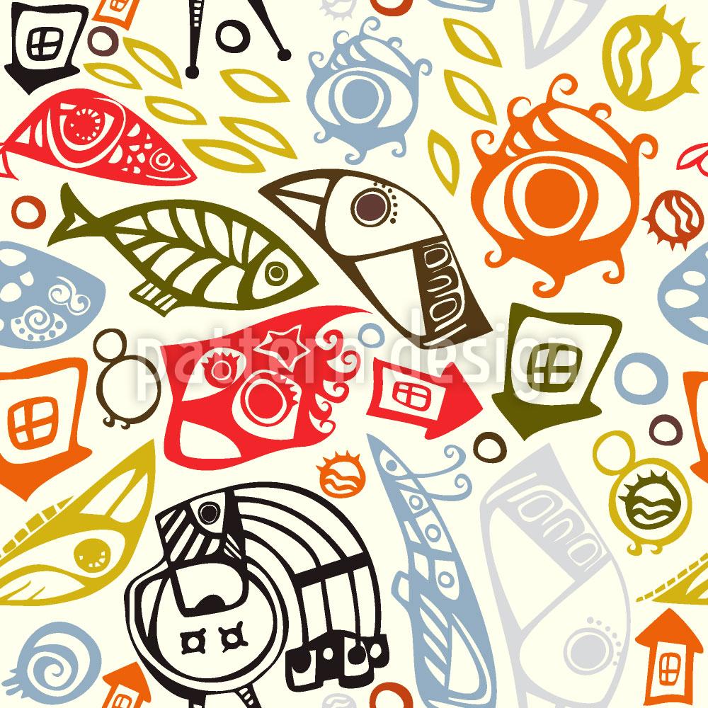 Designtapete Symbolismus
