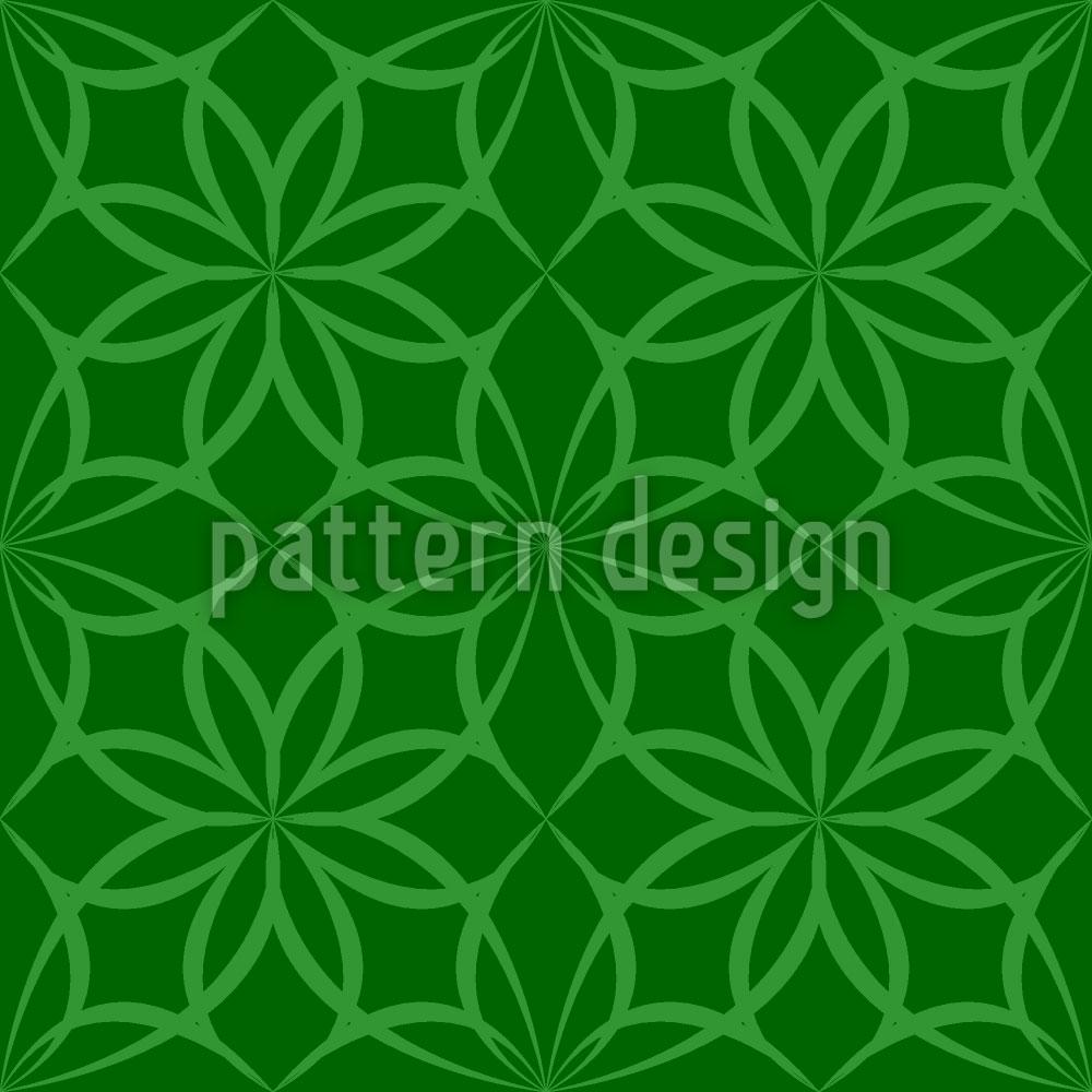 Designtapete Gotische Waldblumen