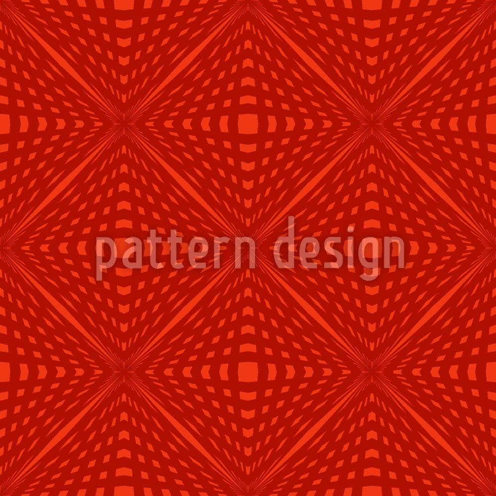 Designtapete Karo Vision