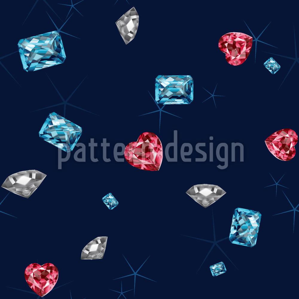 Designtapete Funkel Diamanten