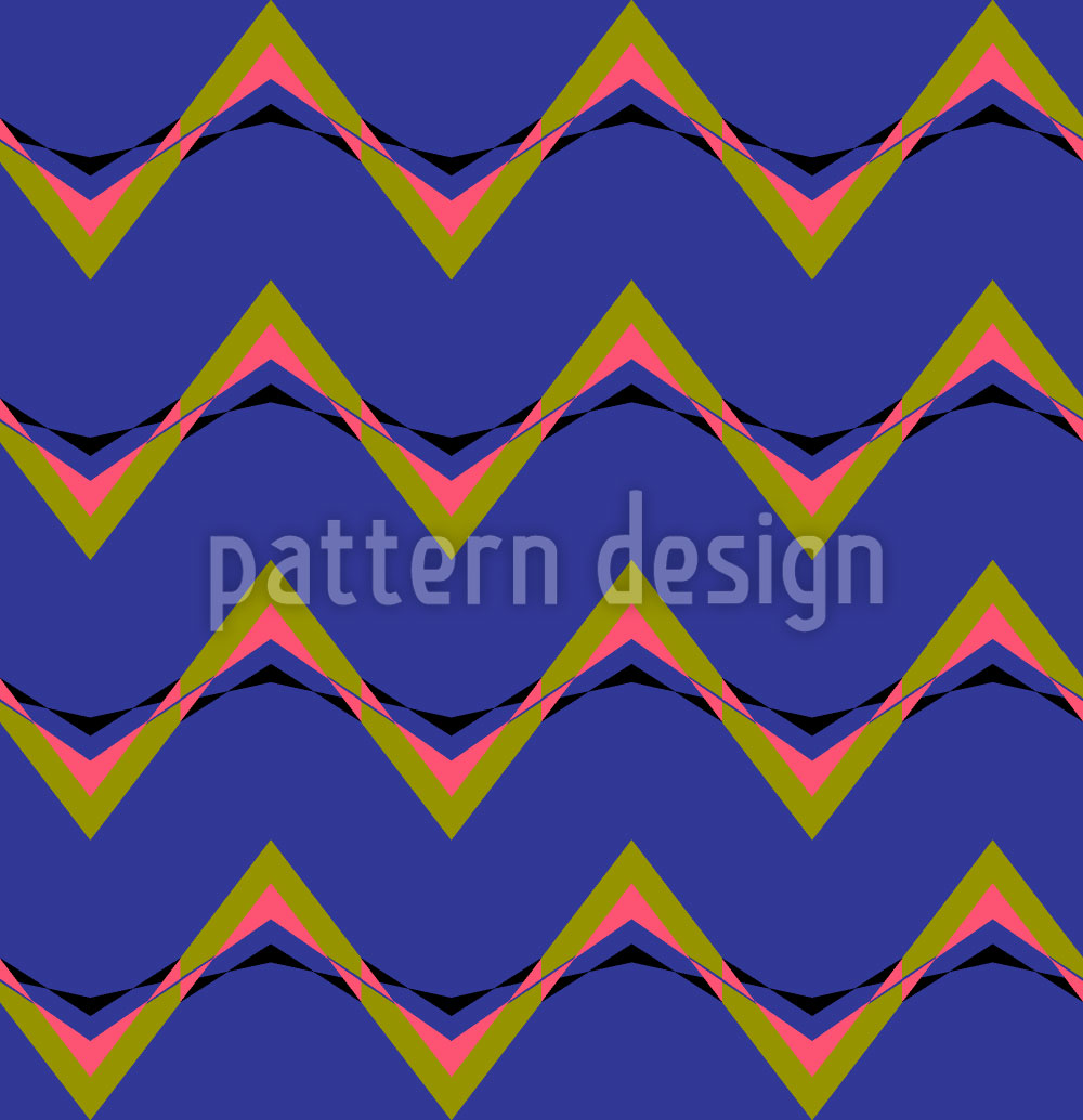 Designtapete Pop Art Deco