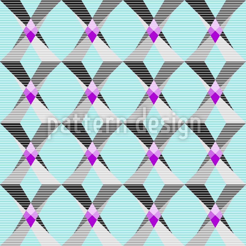 Designtapete Geometrische Fantasie