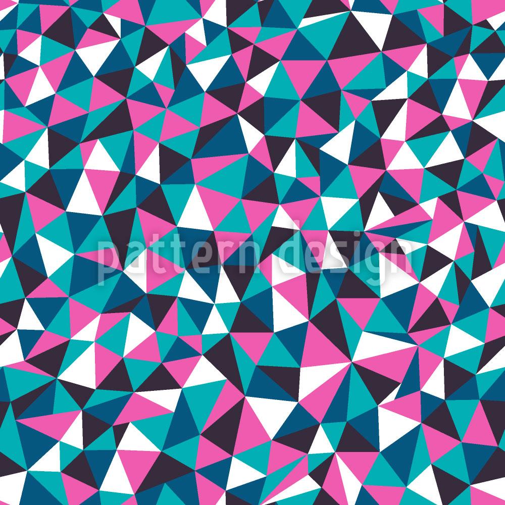 Designtapete Geometrische Glas Melancholie