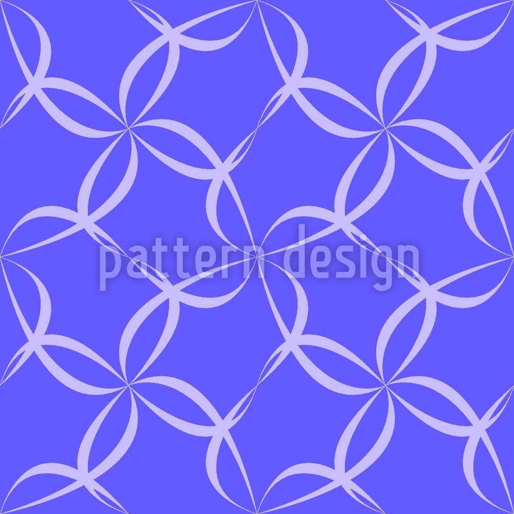 Designtapete Blütenzaun