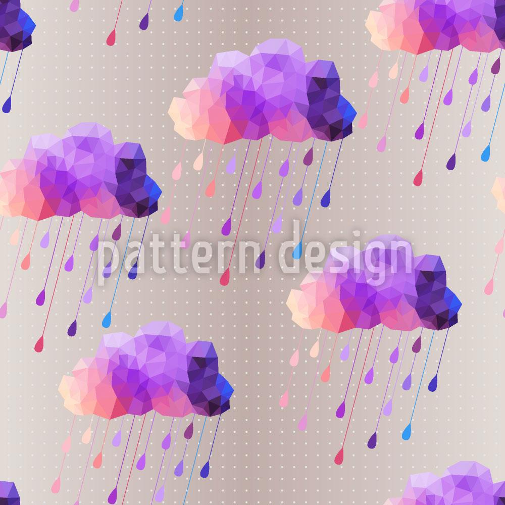 Designtapete Hipster Wolken