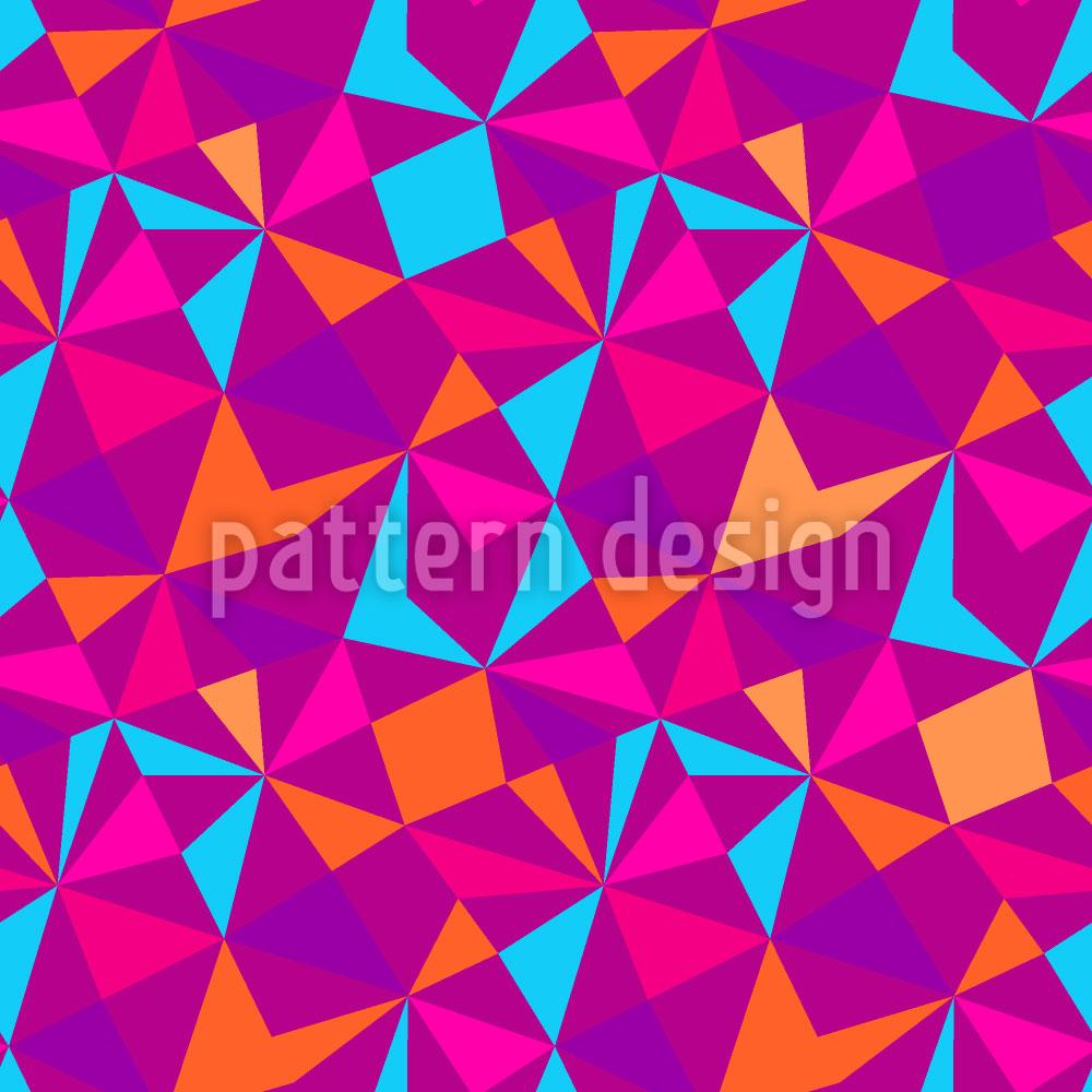 Designtapete Pop Mosaik