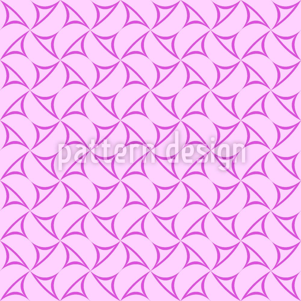 Designtapete Schwingende Dreiecke