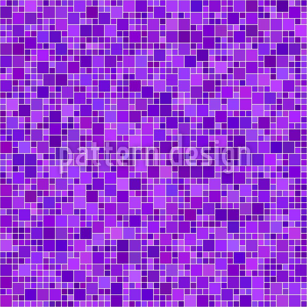 Designtapete Pixel Mosaik