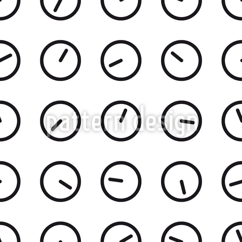 Designtapete What Time Is It