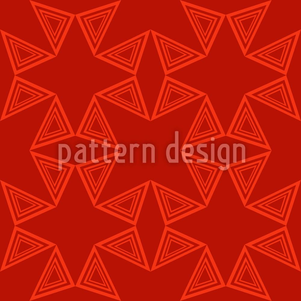 Designtapete Dreieck Verbindung