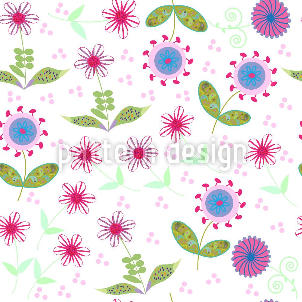 Designtapete Floralia
