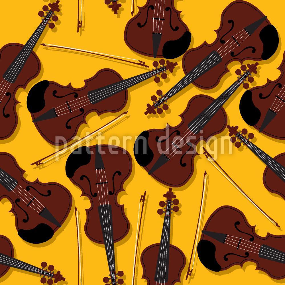 Designtapete Violini