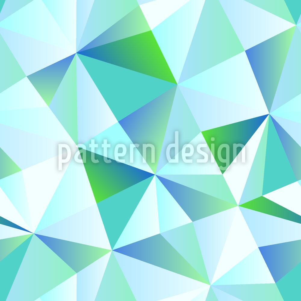 Designtapete Glas Menagerie