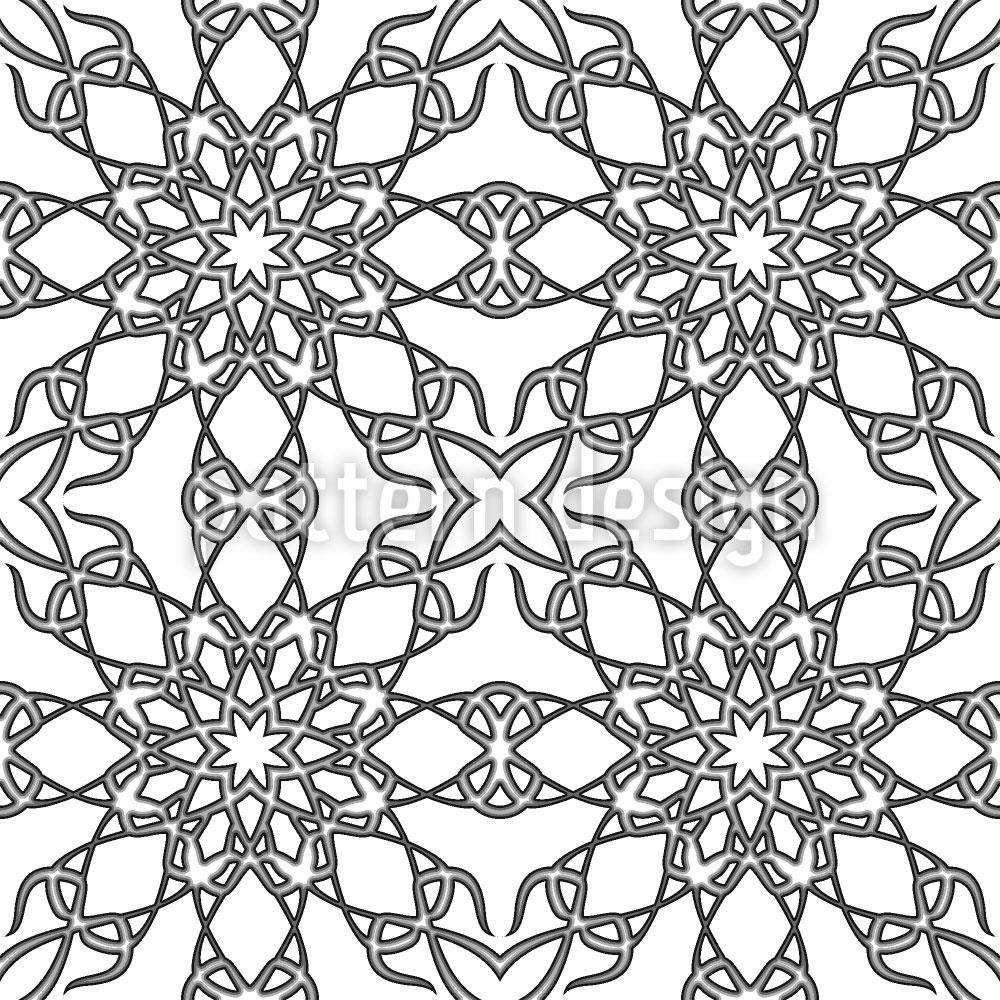 Designtapete Monochrome Gotik