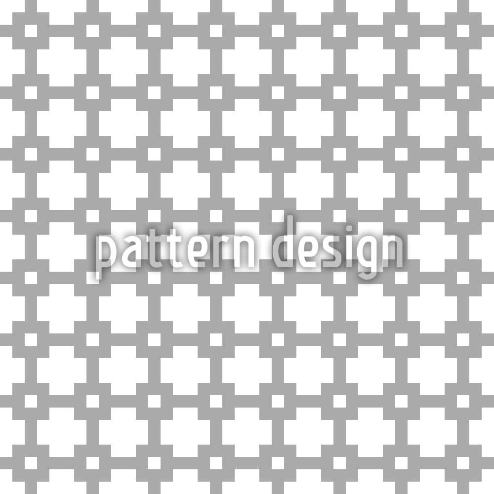 Designtapete Geometrisches Netzwerk