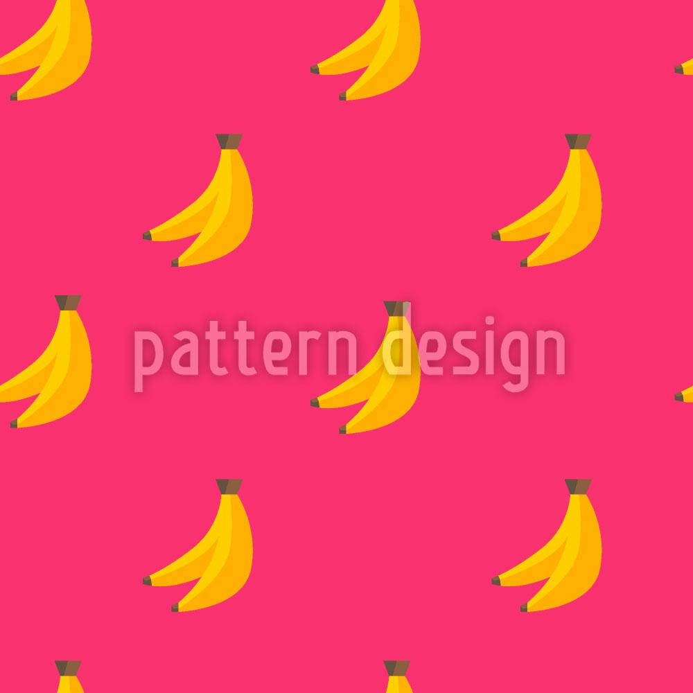 Designtapete Bananen