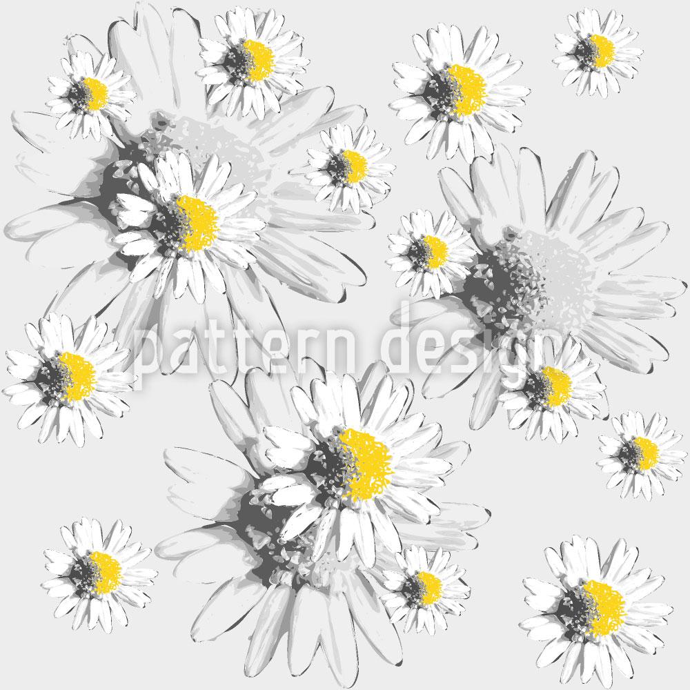 Designtapete Tagtraum Mit Gänseblümchen