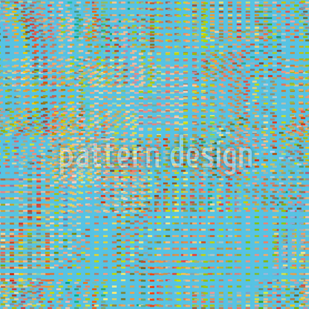 Designtapete Kühle Pixel Vision