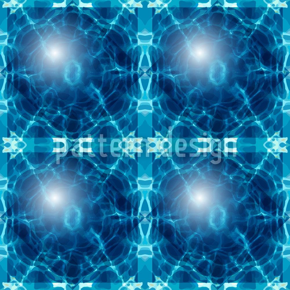 Designtapete Ozeanische Glaskugeln