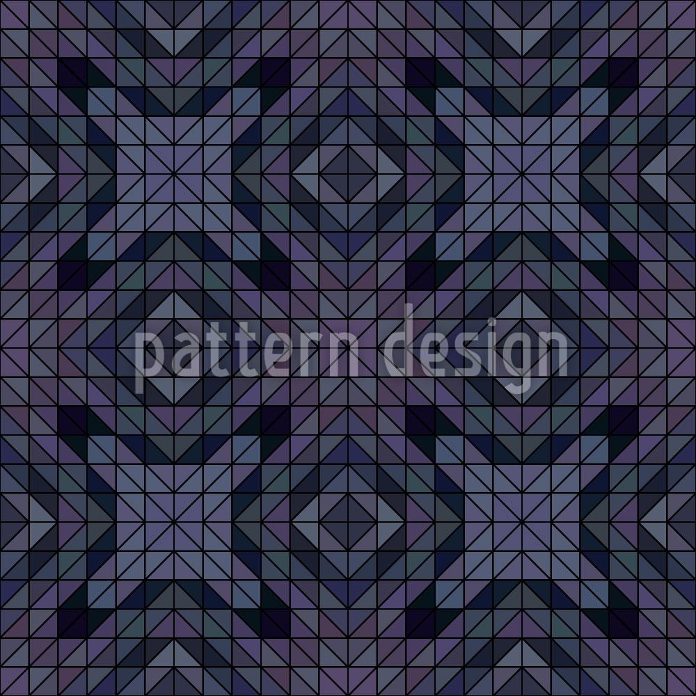 Designtapete Geometrische Dämmerung