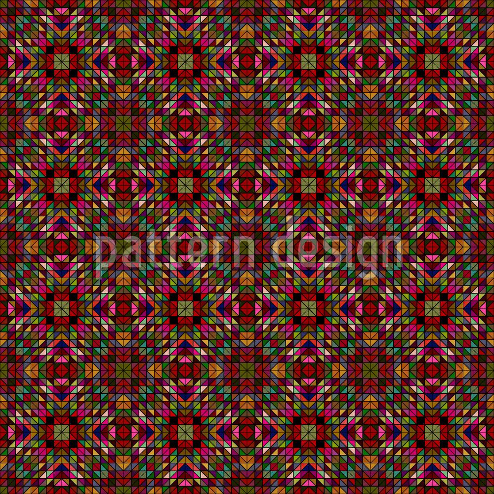 Designtapete Die Fantasie Der Geometrie