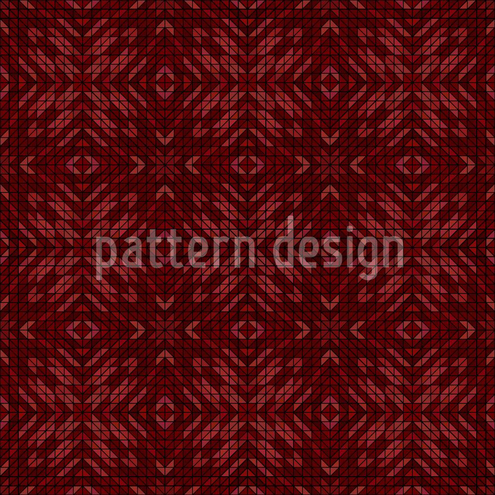Designtapete Erden Mosaik