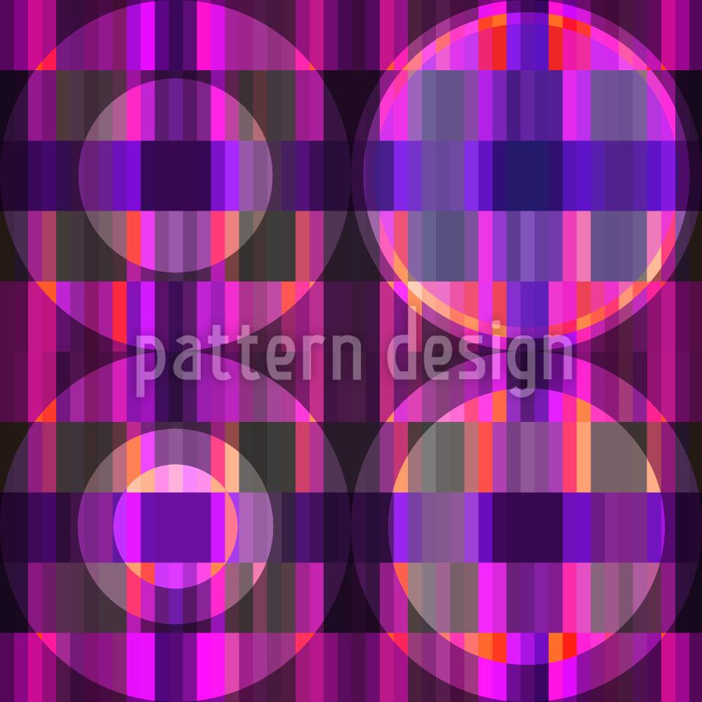 Designtapete Parkett Ultraviolett