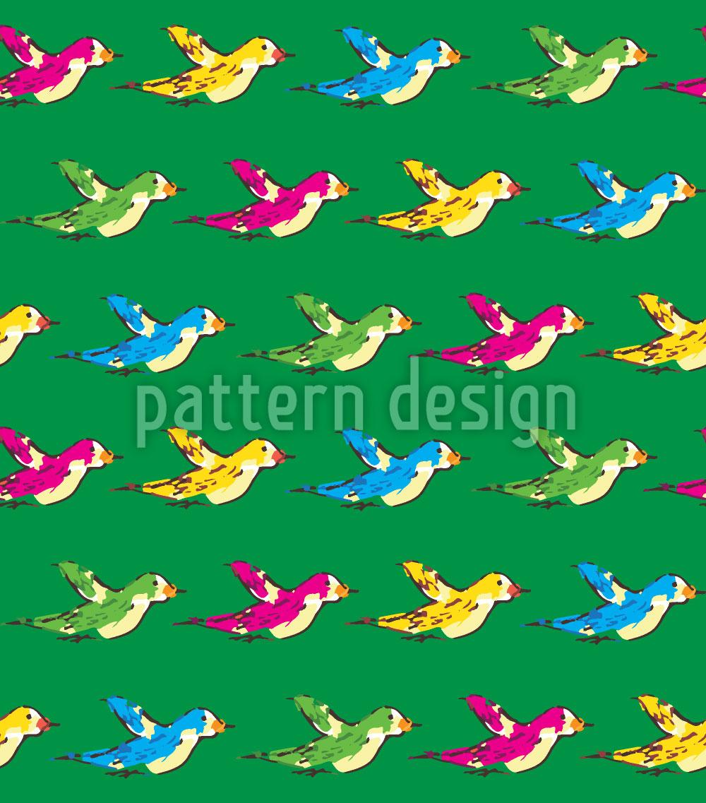 Designtapete Die Vögel Ziehen Ostwärts