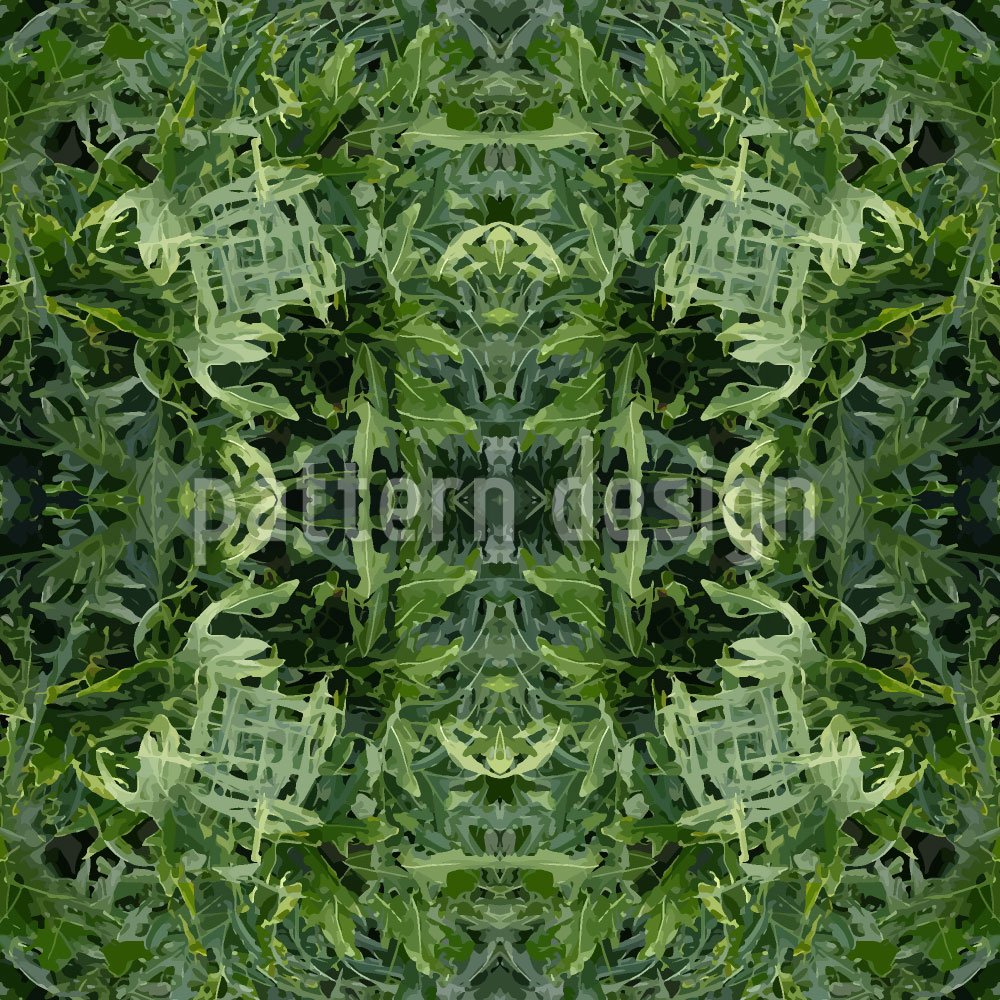 Designtapete Das Dschungel Portal