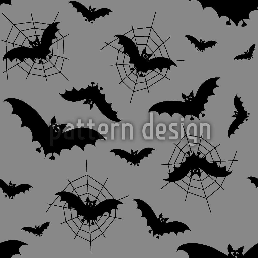 Designtapete Fledermäuse Im Netz