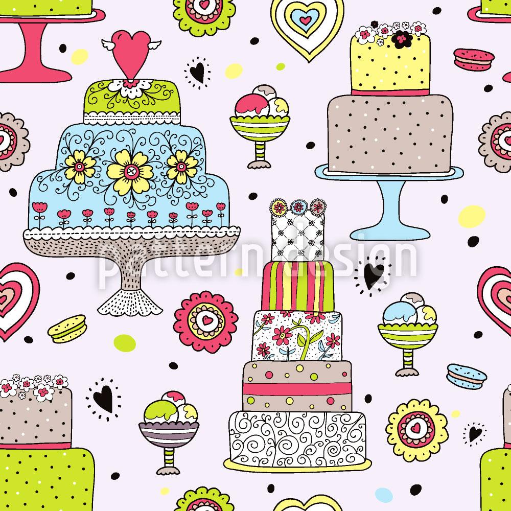 Designtapete Julias Kuchen Manufaktur