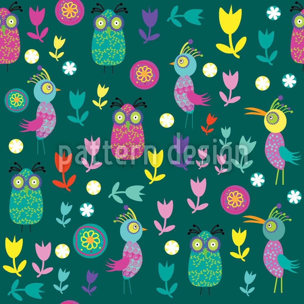 Designtapete Papageno Im Vogel Paradies