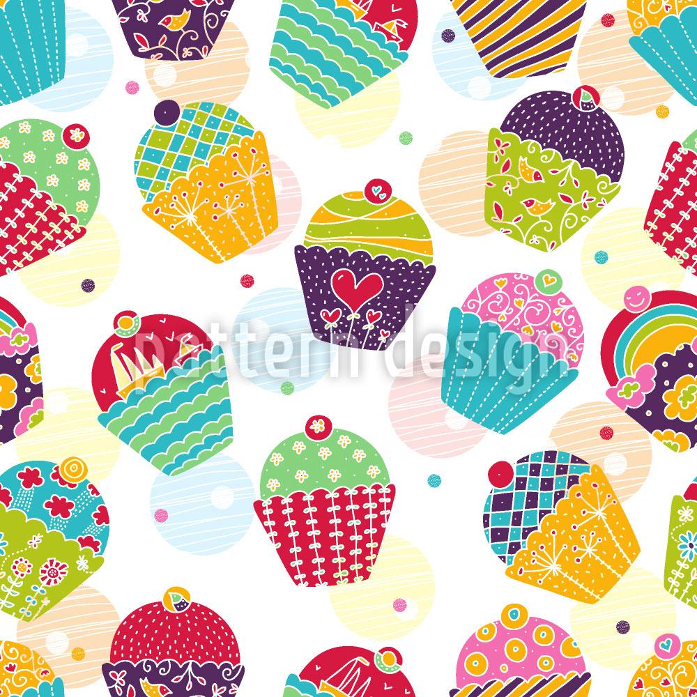 Designtapete Muffins Für Sweet M