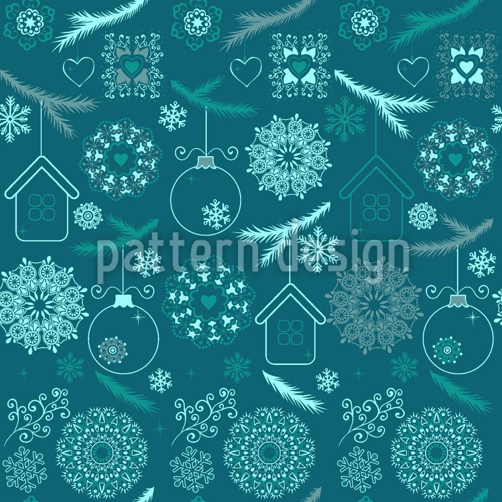 Designtapete Zauberhaftes Weihnachten