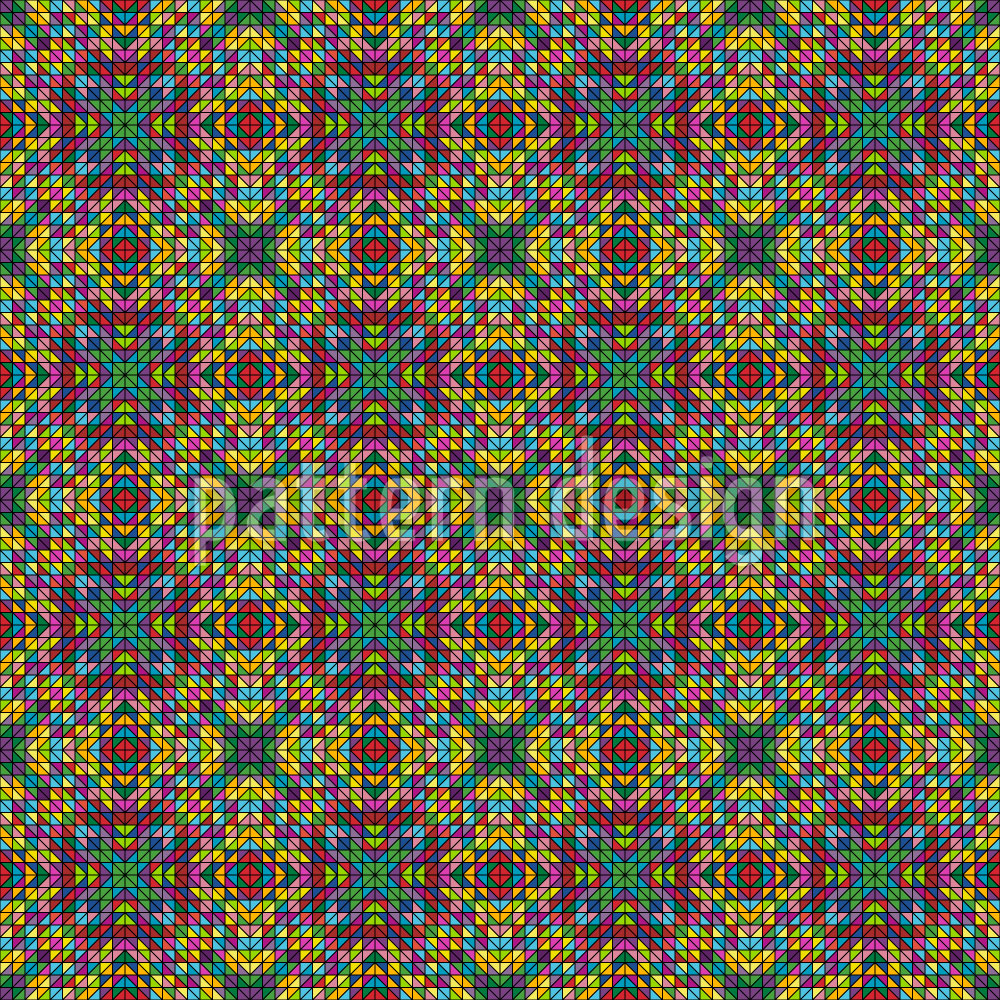 Designtapete Pixel Gotik