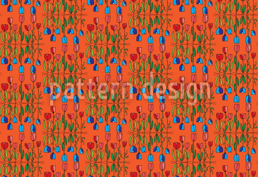 Designtapete Tulpenwelt