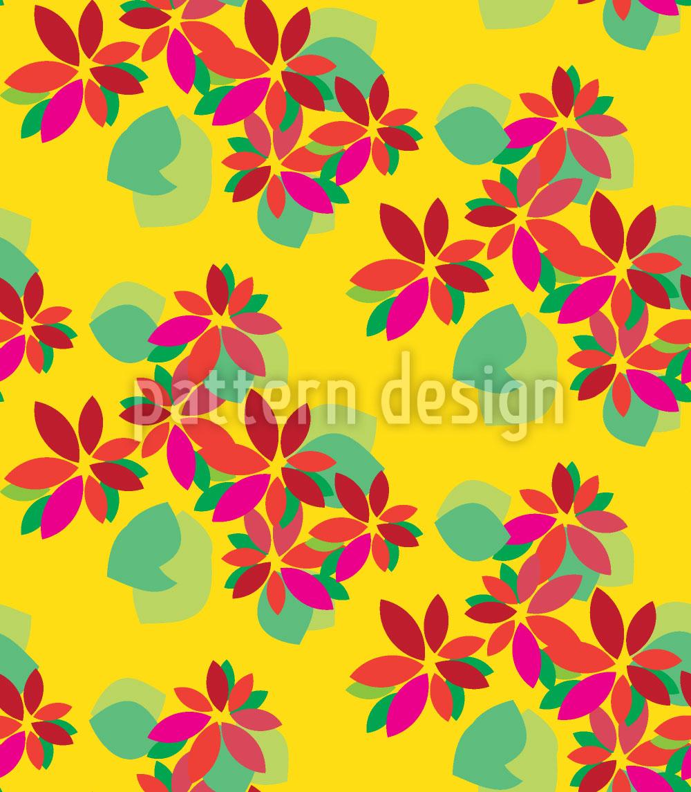 Designtapete Flora Tropicale